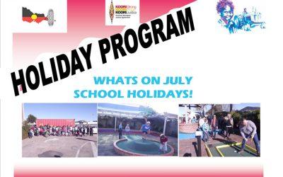 School Holiday Program July 2017